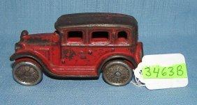 Early Cast Iron Sedan