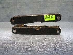 Vintage Knife And Tool Set