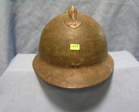 Vintage Wwii Military Helmet