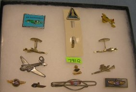 Great Group Of Vintage Aviation Collectibles