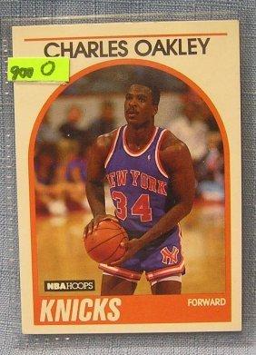 Vintage Charles Oakley Basketball Card