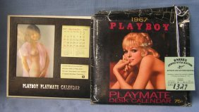 Vintage Playboy Desk Calendar