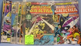 Battle Star Gallactica Comic Books