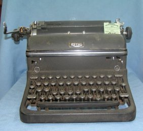 Antique Royal Typewriter