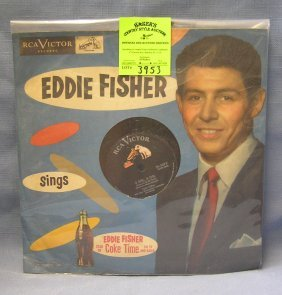 Eddie Fisher Record : Coca Cola Time On Tv And Radio