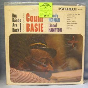 Vintage Count Basie Record Album