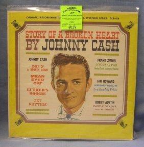 Vintage Johnny Cash Record Album