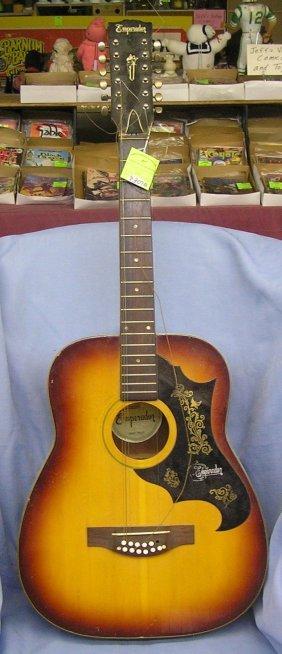 Vintage Handmade 12 String Acoustic Guitar By Emperador
