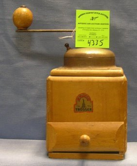 Antique Coffee Grinder Made In Germany