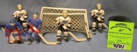 Hockey Players, Goals & Accessories For A Vintage