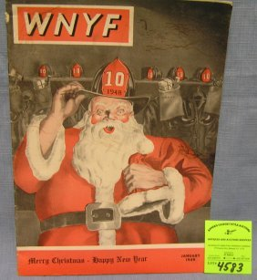 Vintage New York Fireman's Magazine Dated 1949
