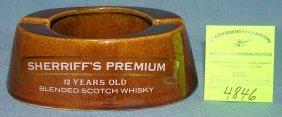 Vintage Sheriffs Premium Advertising Display Piece