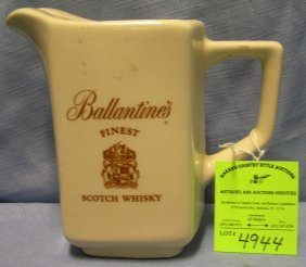Ballentine Scotch Whiskey Advertising Whiskey Water