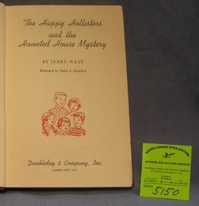 The Happy Hollisters And The Haunted House Book