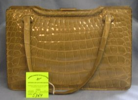 High Quality French Leather Handbag