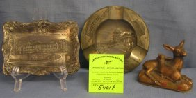 Group Of All Cast Metal Souvenirs