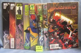 Group Of Misc. Comic Books
