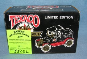 Texaco 1918 Style Ford Runabout Coin Bank