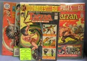 Group Of Vintage Tarzan Comic Books