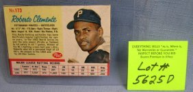 Vintage Roberto Clemente Post Cereal Baseball Card