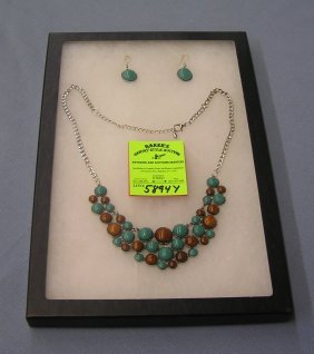 Quality Necklace And Earring Set