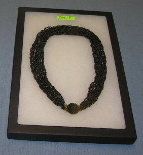 Quality Costume Jewelry Beaded Necklace
