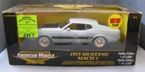 Vintage 1973 Mustang All Cast Metal American Muscle Car
