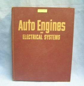 Auto Engines & Electrical Systems Repair Book
