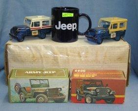 Vintage Avon Jeep Vehicle Collectibles