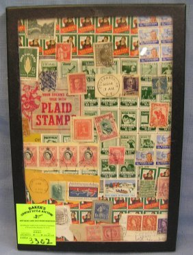 Collection Of Vintage Postage Stamps And Seals