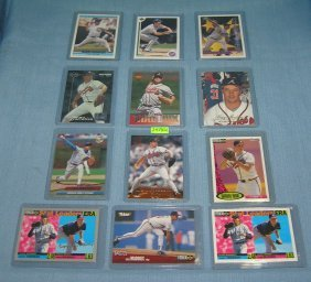 Collection Of Greg Maddux Baseball Cards