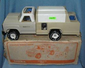Tonka Chevron Gas And Oil Co. Delivery Truck