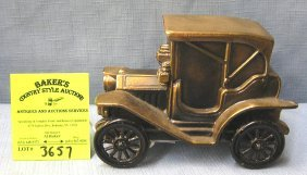Vintage Cast Metal Buick Two Door Coupe Bank
