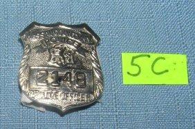Nassau County Police Detectives Wallet Badge