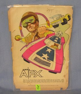 Vintage Aurora Afx And Ideal Motor Racing Ad