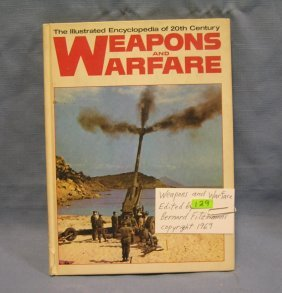Weapons And Warfare Vintage Military Book