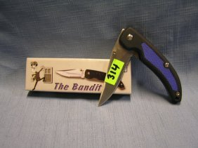 The Bandit Pocket Knife With Original Box