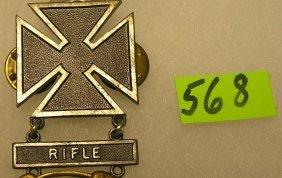 Rifle Sharpshooters Badge