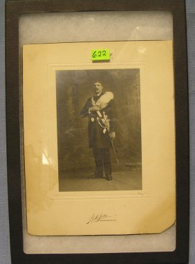 Great Early Knights Of Columbus Officer Photo