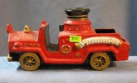 Vintage Decorative Fire Truck