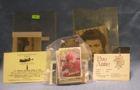Group Of Paper Collectibles