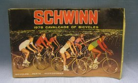 Vintage Schwinn Bicycle Catalog Circa 1978