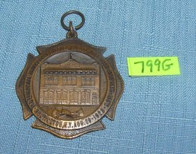 Suffolk County Li Fireman's Association Medal