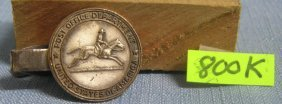 Early Post Office Tie Clip