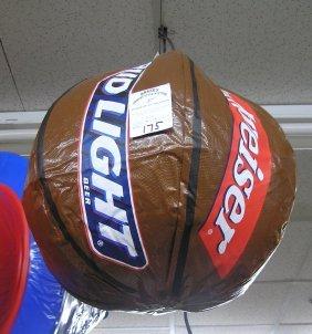 Inflatable Budweiser Basketball Store Display