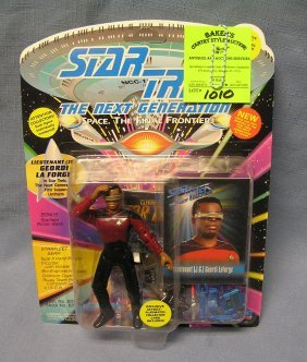 Star Trek The Lt Jg Georgi La Force Action Figure