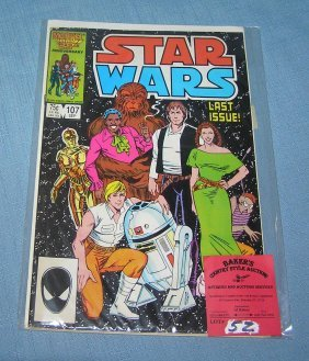Vintage Star Wars Marvel Comic Book No. 107