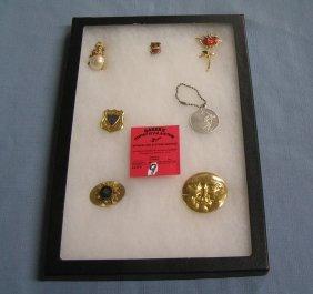 Vintage Pins, Badges, Schaefer Award & More