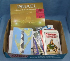 Vint. Photos, Post Cards, Israeli Book & More