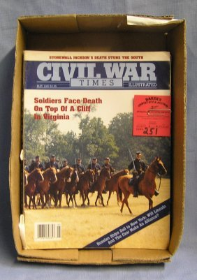 Collection Of Civil War Magazines
